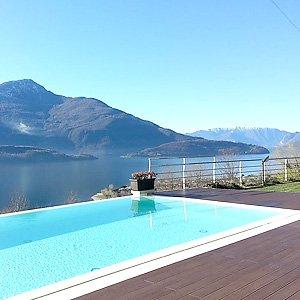 Comer See - Ferienwohnung mit Pool