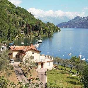 Ferienhaus mit Seezugang